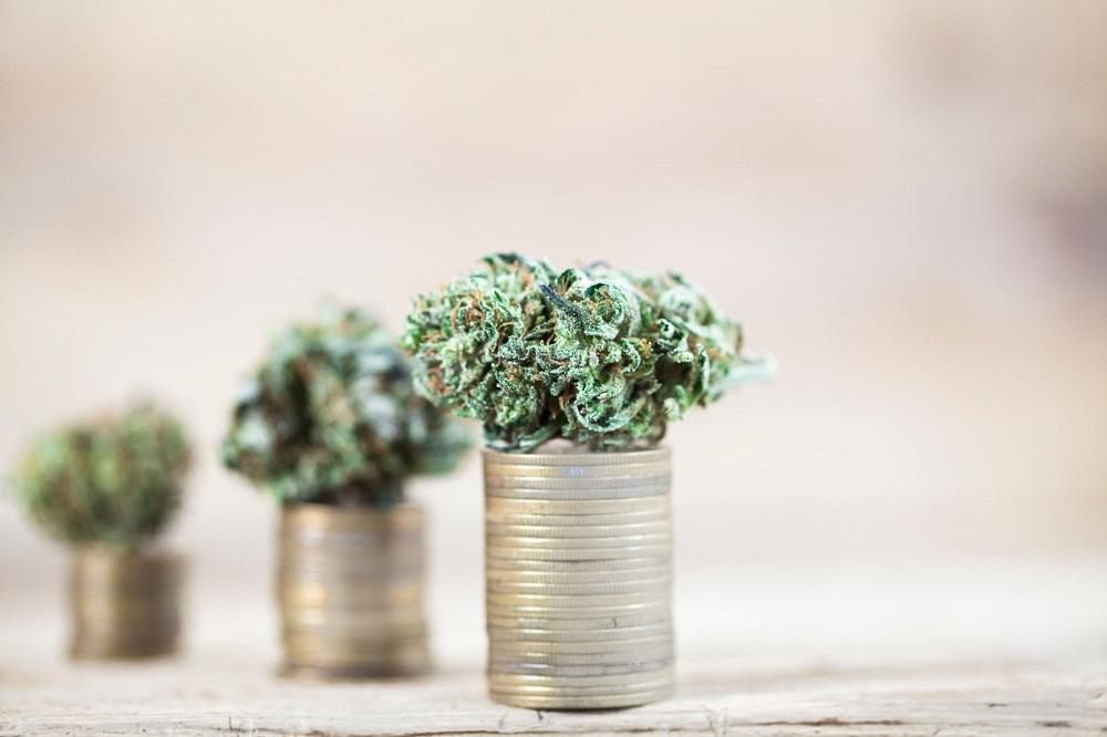 Marijuana On Money
